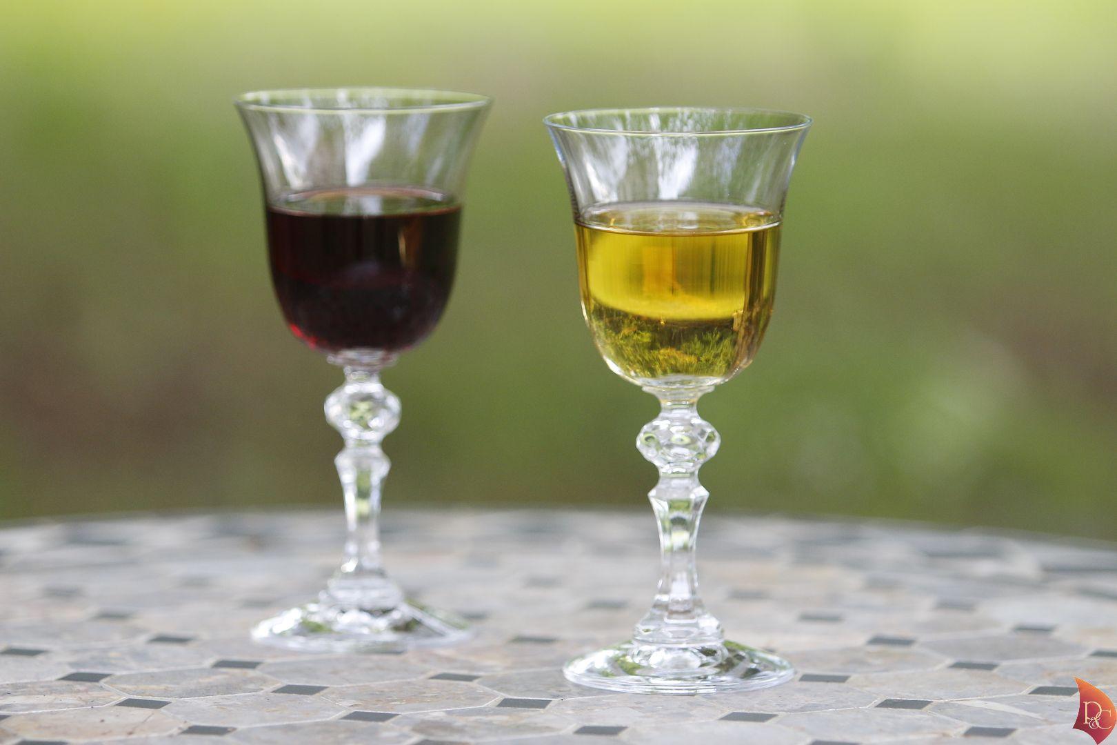 P&C Verre Pineau des Charentes Blanc Rouge