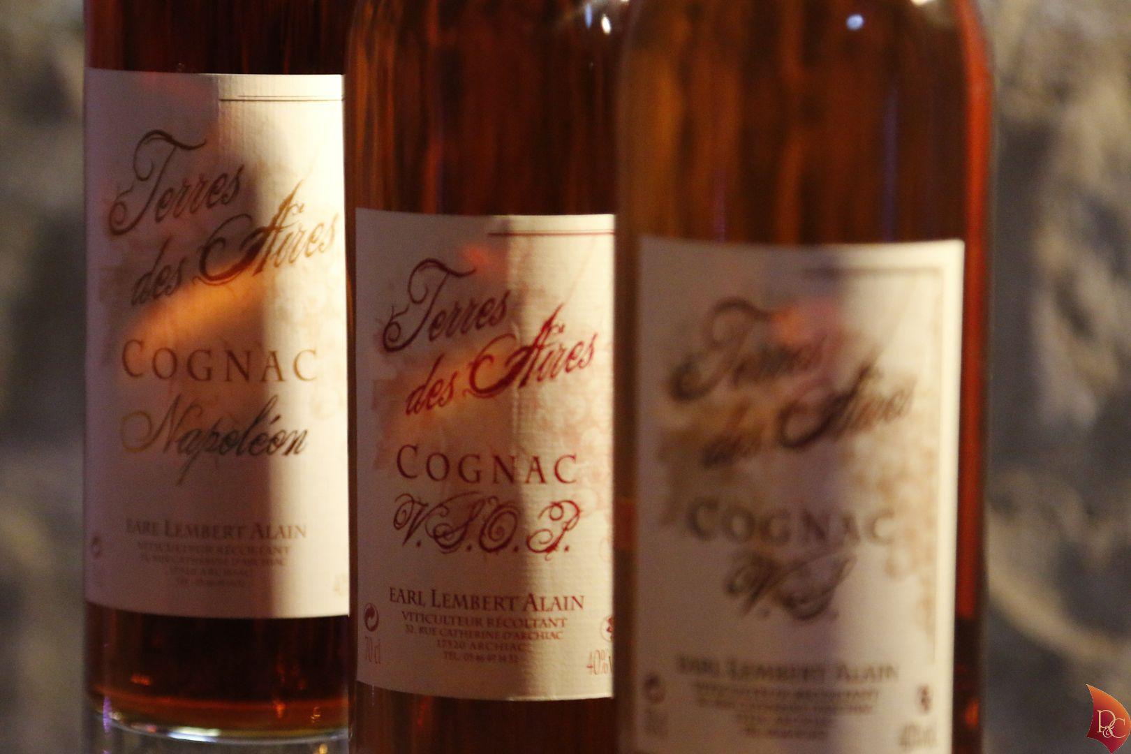 P&C Bouteilles Cognac VSOP