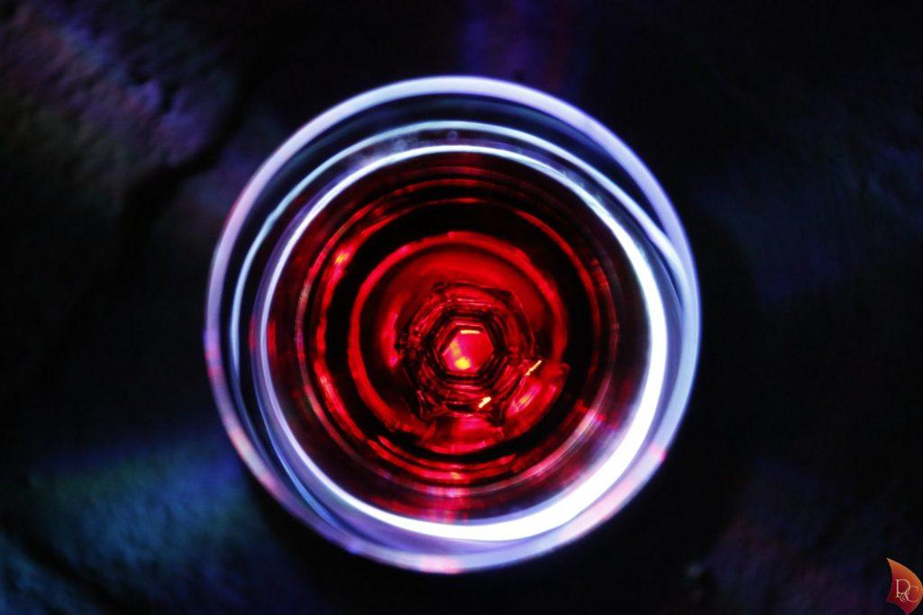 P&C Verre Pineau des Charentes Rouge Lumière